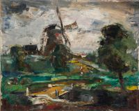 1937 | Mill | oil on canvas 81x100