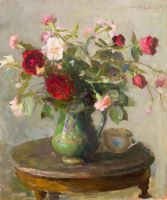 1954 | Roses | oil on canvas 63x53