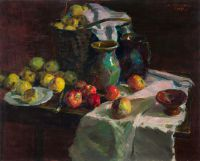 1957 | Apples | oil on canvas 81x100
