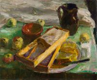 1960 | Still life with honey | oil on canvas 70x85