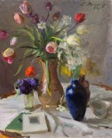 1963 | Tulips | oil on canvas 73x60