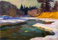 1964 | River Amata | oil on canvas 49x70