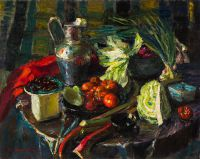 1967 | Vegetables | oul on canvas 80x100
