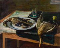 1969 | Two ducks | oil on canvas 81x100